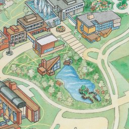 Campus Map Ithaca College Interactive Map